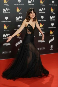 Actress Macarena Garcia at the 5th annual Feroz Awards on Monday, Jan. 22, 2018, in Madrid