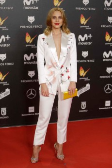 Actress Aura Garrido at the 5th annual Feroz Awards on Monday, Jan. 22, 2018, in Madrid
